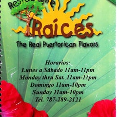Photo taken at Raices Restaurant by Nayan P. on 9/1/2011