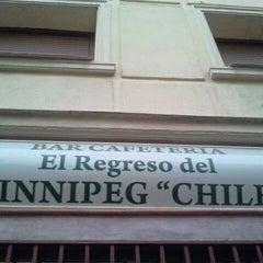Photo taken at El regreso de Winnipeg Chile by David M. on 10/4/2011