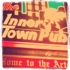 Photo taken at Innertown Pub by Tyler B. on 12/31/2011