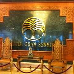 Photo taken at Gran Senyiur Hotel by Jose Manuel D. on 4/13/2012