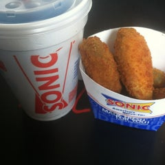 Photo taken at SONIC Drive In by Tiff B. on 3/25/2012