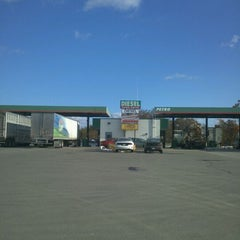 Photo taken at Petro Travel Plaza by Michael R. on 10/31/2011