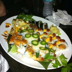 Photo taken at Spy Global Cuisine and Lounge by Jillyan Z. on 5/20/2011