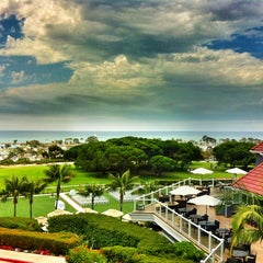Photo taken at Laguna Cliffs Marriott Resort & Spa by Rick T. on 8/3/2012