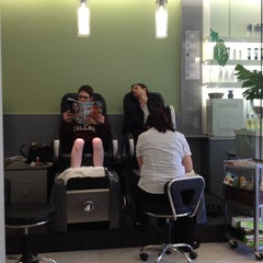 Photo taken at Element Beauty Lounge by Dev A. on 4/22/2012