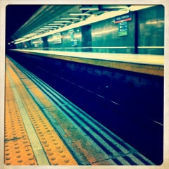 Photo taken at Metro Avenida de América by Beatriz M. on 3/28/2011