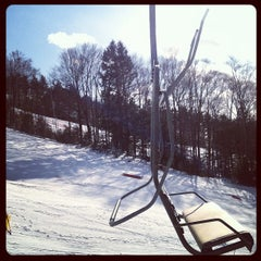 Photo taken at Cranmore Mountain Resort by laura f. on 1/29/2012