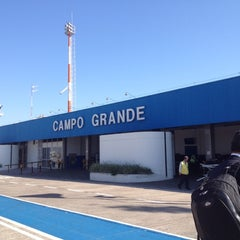Photo taken at Aeroporto Internacional de Campo Grande (CGR) by Hélio B. on 8/6/2012