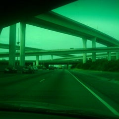 Photo taken at Spaghetti Junction (Tom Moreland Interchange) by Dijan M. on 4/1/2011