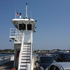 Photo taken at Shelter Island North Ferry - Greenport Terminal by Steve A. on 5/29/2012