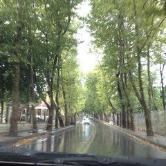Photo taken at Florya Sahili by Oğuzhan C. on 8/12/2012