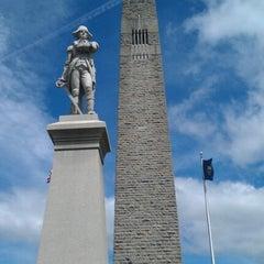 Photo taken at Bennington Monument by Brianne on 7/5/2012