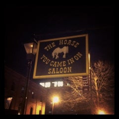 Photo taken at The Horse You Came In On Saloon by Katie C. on 11/20/2011