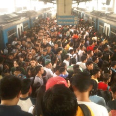 Photo taken at Yellow Line - Taft Avenue Station by Rated R. on 9/12/2012