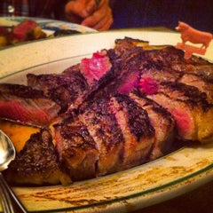 Photo taken at Peter Luger Steak House by Maricar B. on 7/28/2012