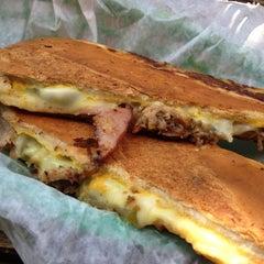 Photo taken at Pilar Cuban Eatery by Nina on 7/22/2012