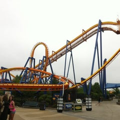 Photo taken at Dorney Park & Wildwater Kingdom by Martin F. on 5/4/2012