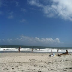Photo taken at 49th Avenue Beach Access by Alison H. on 5/27/2012