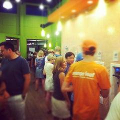 Photo taken at Orange Leaf by Jason S. on 8/8/2012