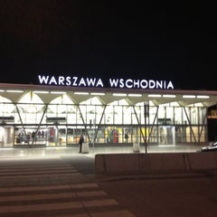 Photo taken at Warszawa Wschodnia by Bartlomiej A. on 8/27/2012