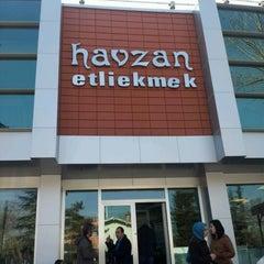 Photo taken at Havzan Etli Ekmek 3 by Sebile y. on 3/18/2012