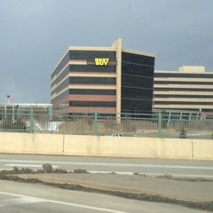 Photo taken at Best Buy Corporate HQ by Michael R. on 2/24/2012
