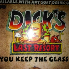 Photo taken at Dick's Last Resort by Dor C. on 8/28/2012
