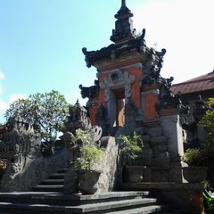 Photo taken at Taman Werdhi Budaya Art Center by semara a. on 6/8/2012