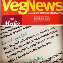 Photo taken at VegNews Magazine by Whitney L. on 5/17/2012