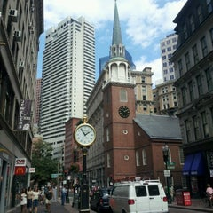 Photo taken at Old South Meeting House by Nicole E. on 9/2/2012