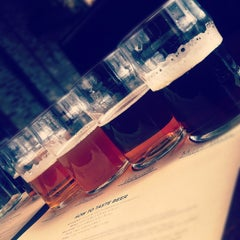 Photo taken at Goose Island Brewery by Tiffany A. on 2/17/2012