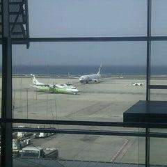 Photo taken at Aeropuerto de Fuerteventura (FUE) by Joan T. on 7/12/2012