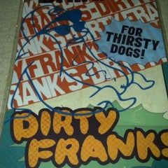 Photo taken at Dirty Frank's Hot Dog Palace by Matt C. on 4/3/2012