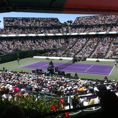 Photo taken at Crandon Tennis Center by Jose F. on 4/2/2011