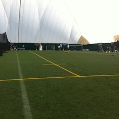 Photo taken at Lamport Stadium by Rhianne C. on 3/11/2012
