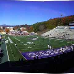 Photo taken at Bob Waters Field at E.J. Whitmire Stadium by Neal A. on 11/5/2011
