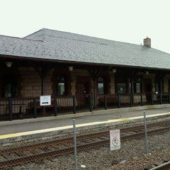 Photo taken at MBTA Canton Junction Station by David H. on 9/23/2011