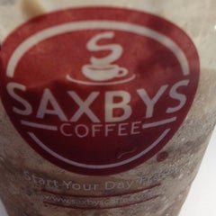 Photo taken at Saxbys Coffee by Kara M. on 3/8/2012
