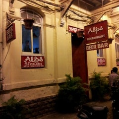 Photo taken at Alps Restaurant & Beer Bar by Suprit V. on 2/25/2012