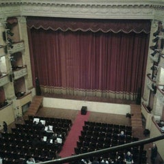 Photo taken at Teatro Storchi by Alessandro B. on 5/8/2012