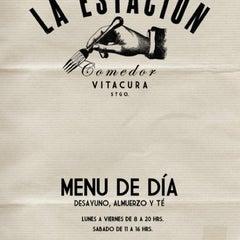 Photo taken at La Estacion (Comedor) by Carlos G. on 8/24/2011