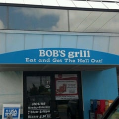 Photo taken at Bob's Grill by Mark & Cheryl L. on 6/17/2012
