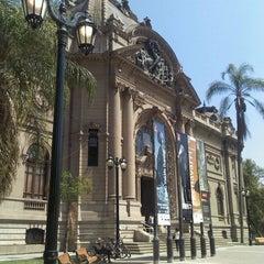Photo taken at Museo Nacional de Bellas Artes by natalia b. on 1/15/2012