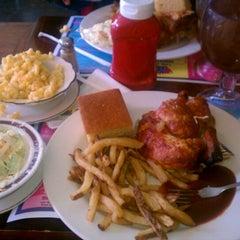 Photo taken at New York's Original BBQ Restaurant by 💥✨BrOC✨💥 on 10/22/2011