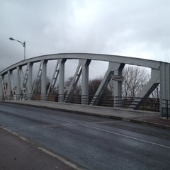 Photo taken at Pont Comines France/Belgique by Kevin C. on 2/14/2012