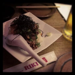 Photo taken at Restaurant Riki by Shiori Y. on 5/10/2012