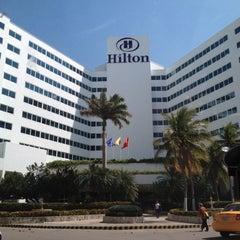 Photo taken at Hilton Cartagena by Francesco on 1/8/2012