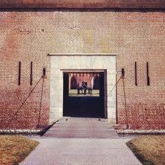 Photo taken at Fort Pulaski by Roger P. on 12/5/2011