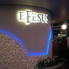 Photo taken at Efesus Restaurant & Bar by Didem M. on 2/11/2012