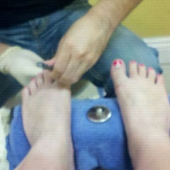 Photo taken at Mystic Nail And Spa by Marilyn K. on 9/3/2011